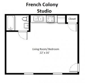 Standard Studio – Second Floor (#25)