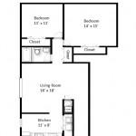 Jamestown Standard 2 Bedroom