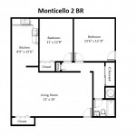 Monticello Standard 2 Bedroom