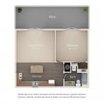 Park Place Designer Series 1 Bedroom