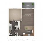 One Bedroom (poolside)