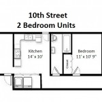 10th Street Deluxe 2 Bedroom