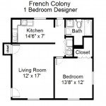 French Colony 1 Bedroom Designer Series