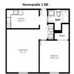 Monticello Standard 1 Bedroom
