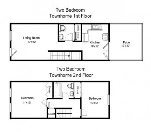 Two Bedroom Standard Style (#01)