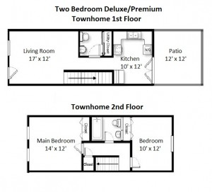 Two Bedroom Premium Style Town Home (#13)