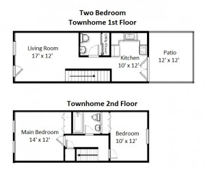 Two Bedroom Standard Style (#04)