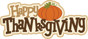 Thanksgiving Holiday Hours 2015
