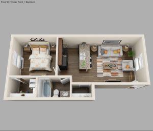Brand New One Bedroom